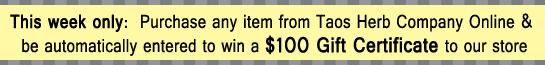 win $100 gift certificate