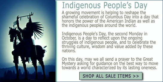 Indigenous Peoples Day Sale