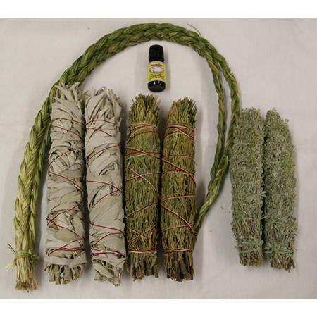 Cedar Sage Sweetgrass Collection