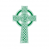 Celtic Cross prayer flag
