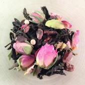 chocolate rose oolong tea from tea-o-graphy