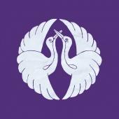Cranes prayer flag